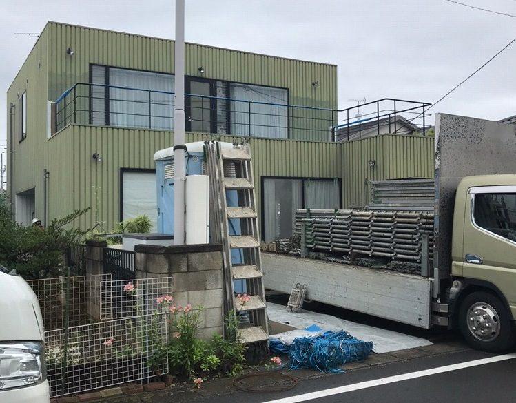 群馬県 大泉町 外壁塗装